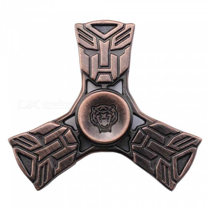 Dayspirit Transformers Style Fidget Releasing Hand Spinner- Red CopperFinger Toys<br>Form  ColorPurple BronzeMaterialAlloyQuantity1 pieceSuitable Age 5-7 years,8-11 years,12-15 years,Grown upsPacking List1 x Spinner<br>