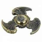 BLCR Tri-Wing Style Fidget Relief Toy EDC Finger Spinner - Bronze