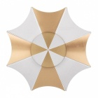 BLCR Umbrella Shaped Finger Toy Hand Spinner for ADHD - Golden