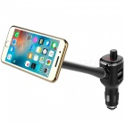 Mobile Phone Magnet Bracket Holder, Car MP3 Player Car Bluetooth Handsfree, Dual USB Ports