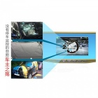 "SIV-M12 4.3"" 1080P HD Rearview Mirror Dual Channel Driving Recorder"