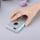 BLCR Protective Back Case with Ring for IPHONE 7 - Sky Blue