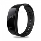 Eastor QS80 Blood Pressure Heart Rate Monitor Smart Bracelet - Black