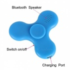 Rechargeable Bluetooth Speaker Toy with LED Colorful Light - Blue