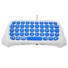 TP4-008 Bluetooth Wireless Keyboard for PS4, PS4 Slim, PS4 PRO - White