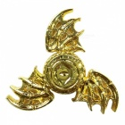 Dayspirit  Eagle Eye Style Fidget Stress Relief Hand Spinner - Golden