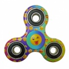 Dayspirit QQ Emotion Pattern Finger Toy EDC Hand Spinner - Multicolor