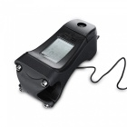 Mini Waterproof Bike Stopwatch Computer with Backlight - Black