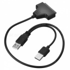 BSTUO USB2.0 to SATA Cable - Black