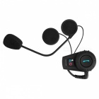 KELIMA 500m Bluetooth Radio FM Casque de moto Interphone - Noir