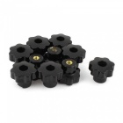 10Pcs 6x30mm Star Knobs Hinge Handles