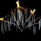 50cm 10-Tube 540SMD Meteor Shower Rain Star-fall LED Lights Cold White