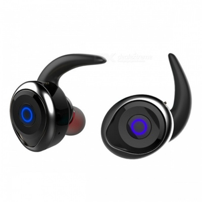 Awei T1 Invisible True Wireless Bluetooth Earphone with Mic - Black