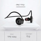 AWEI A845BL Wireless Sport Bluetooth In-Ear Earphones with Mic - Black