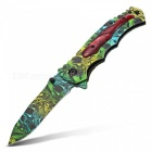 Multi-Functional Household Colorful Folding Knife - Green