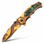 Multi-Functional Household Colorful Folding Knife - Yellow