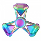 OJADE 3-Diamond Style Hand Spinner Fingertip Gyro Toy - Colorful