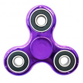 Dayspirit Finger Toy EDC Hand Tri-Spinner for Autism - Purple