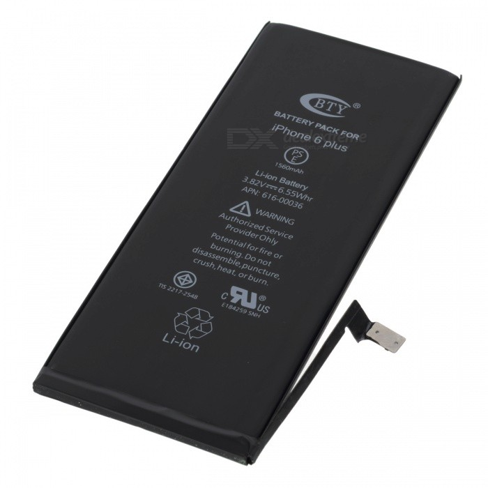 BTY Replacement 2950mAh Li-ion Battery for IPHONE 6 PLUS ...