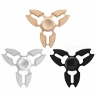 Mini Premium Metal Aluminum Stress Relieving Hand Finger Spinner Focus Toys - Black, Silver, Golden