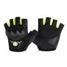 WOSAWE BST-016 Motorcycle Half-finger Tactical Gloves - Green (L)