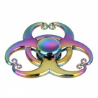 BLCR 3-Monkey King's Hoops Fidget Relief EDC Hand Spinner - Multicolor