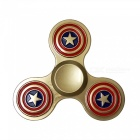 Dayspirit Captain America 3-Ring Fidget Releasing Hand Spinner