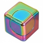 Dayspirit Rainbow Rubik's Cube Shape Hand Spinner EDC Toy for ADHD