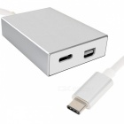 CY UC-012 USB 3.1 Type-C to USB, Mini Displayport DP Adapter