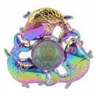 OJADE Three Fish Hand Spinner Fidgets Fingertip Gyro Toy - Multicolor
