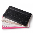 SZKINSTON Ultra Slim Multimedia Wireless Bluetooth Keyboard - Black
