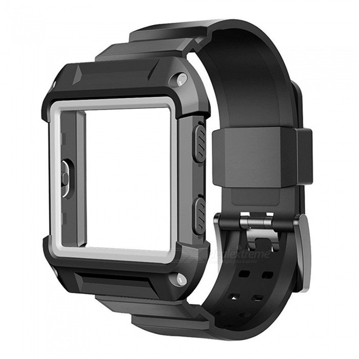 Miimall Protective Case with Strap Band for Fitbit Blaze Smart Watch
