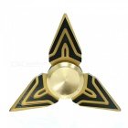 OJADE Triangle Shuriken Shape Hand Fidget Fingertip Gyroscope Toy