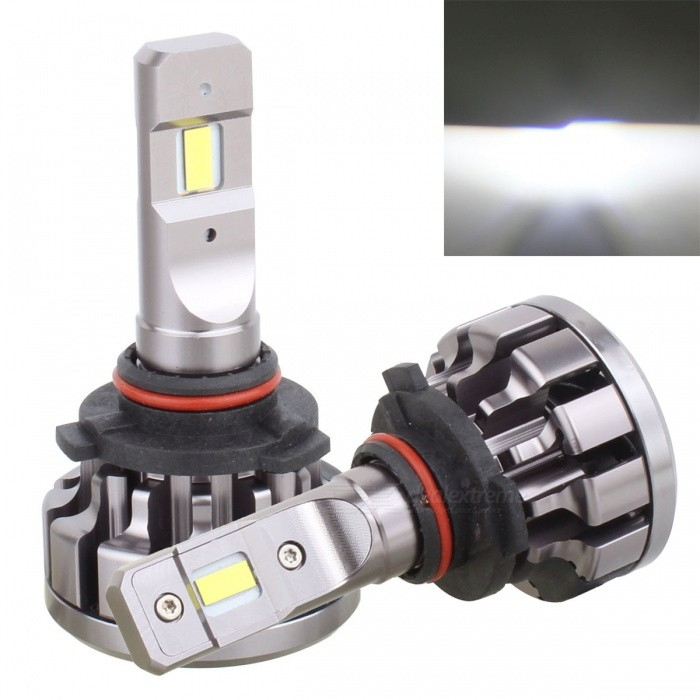 MZ 9005 HB3 High Beam Bulb 70W/set Car Conversion CAN-BUS HeadlightOther Car LED Bulbs<br>Color BIN9005 GreyModelV1+-9005Quantity1 setMaterialAluminumForm  ColorGreyEmitter TypeLEDChip BrandCreeChip TypeCSPTotal EmittersOthers,12PowerOthers,70W/setColor Temperature6000 KTheoretical Lumens1400 lumensActual Lumens12800 lumensRate Voltage12-24VWaterproof FunctionYesConnector Type9005ApplicationHeadlamp,Foglight,Others,Fog LightPacking List2 x LED Lights<br>