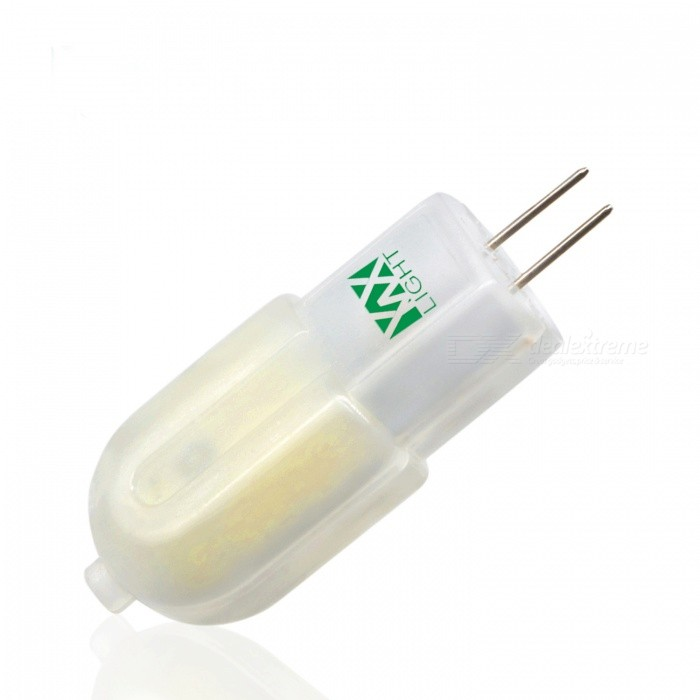 YWXLight G4 3W 30LED 2800-3500K LED Bi-pin Light Warm WhiteG4<br>Color BING4 Warm White MaterialPCForm  ColorWhite + Orange + Multi-ColoredQuantity1 piecePower3WRated VoltageAC 220-240 VConnector TypeG4Emitter TypeOthers,2835 SMD LEDTotal Emitters30Theoretical Lumens300-400 lumensActual Lumens200-300 lumensColor Temperature3000KDimmableNoBeam Angle360 °Packing List1 x LED Bi-pin Light<br>