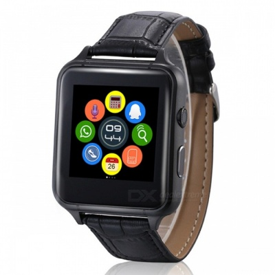 X7 Multifunction 1.54 Inches IPS Bluetooth Smart Watch - Black
