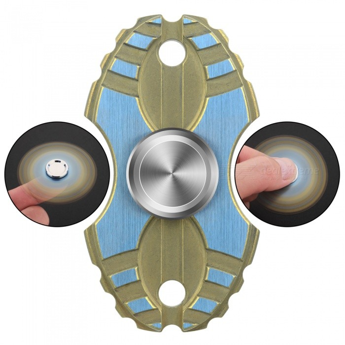 FURA No.8 Shaped TC4 Titanium Alloy Hand Spinner Toy - Golden