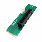 PCI Express PCI-E 4X Female to NGFF M.2 M Key Male Adapter Converter