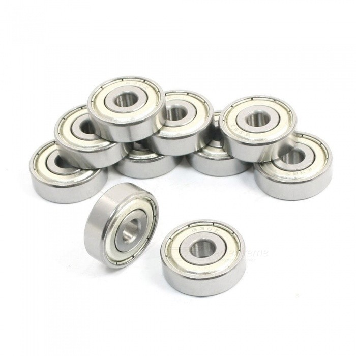 636Z 6mm x 22mm x 7mm Metal Ball Bearings - Silver (10pcs)DIY Parts &amp; Components<br>Form  ColorSilverModel636ZQuantity10 piecesMaterialMetalEnglish Manual / SpecNoCertificationNoPacking List10 x Deep Groove Ball Bearings<br>