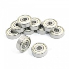 636Z 6mm x 22mm x 7mm Metal Ball Bearings - Silver (10pcs)