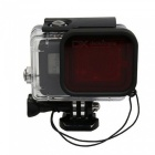 UltraFire Waterproof Case with Red Diving Filter for GoPro Hero 5