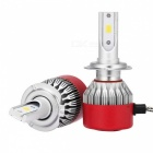 MZ H7 72W 6500K Auto Car LED Headlight Conversion Bulbs Kit (2 PCS)