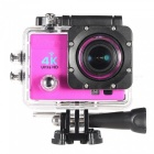 170 Degree Wide Angle 4K Ultra HD 1080P Wi-Fi Action Camera -Deep Pink