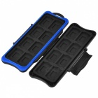 KJH 32-in-1 Waterproof Game Card Storage Box for Switch - Black
