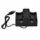 4-Slot Game Controller Charging Stand for Switch Joy-Con - Black