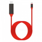 USB 3.1 to HDMI Adapter Cable for ChromeBook Pixel - Red (2m)