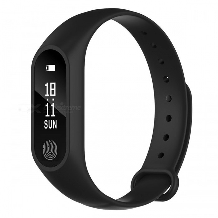M2 Plus Waterproof Smart Bracelet with Heart Rate Monitor - BlackSmart Bracelets<br>Form  ColorBlackQuantity1 setMaterialABSShade Of ColorBlackWater-proofYesBluetooth VersionBluetooth V4.0Touch Screen TypeYesCompatible OSAndroid 4.4 or above, iOS 8.0 or aboveBattery Capacity60 mAhBattery TypeLi-polymer batteryStandby Time20 daysPacking List1 x M2 Plus Smart Bracelet1 x Charging Cable1 x Manual<br>