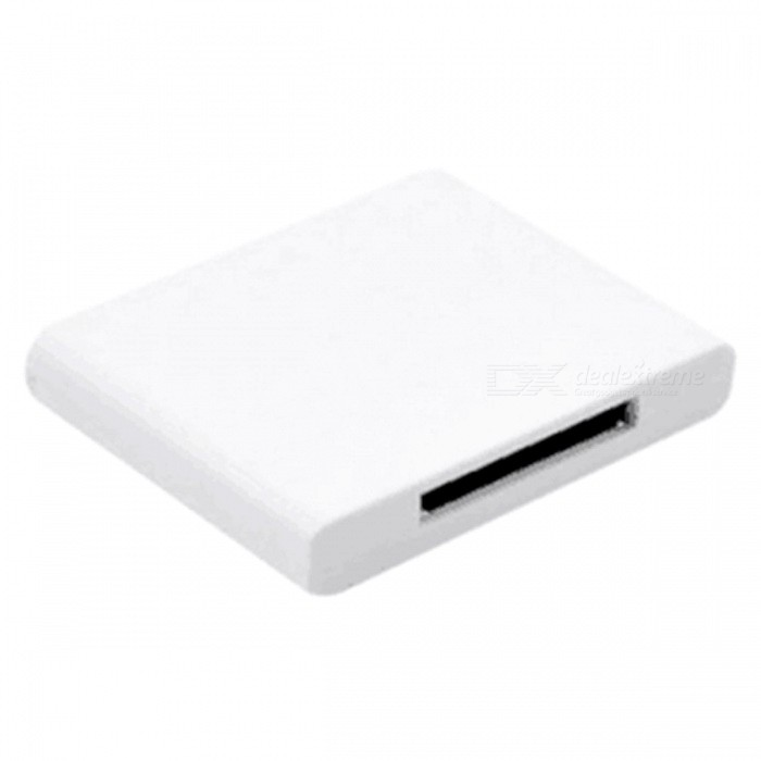 Bluetooth V2.0 Music Receiver Speaker pour IPHONE IPAD - Blanc