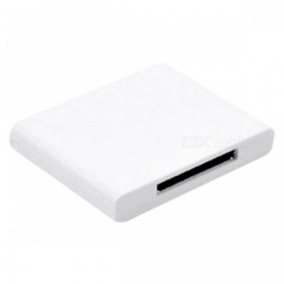 Bluetooth V2.0 Music Receiver Speaker for IPHONE IPAD - White