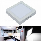 JIAWEN 12W Cold White Surface Mounted LED Ceiling Light Panel Lamp